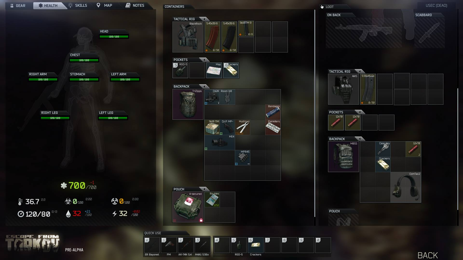 Looting Video Breakdown General Game Forum Escape From