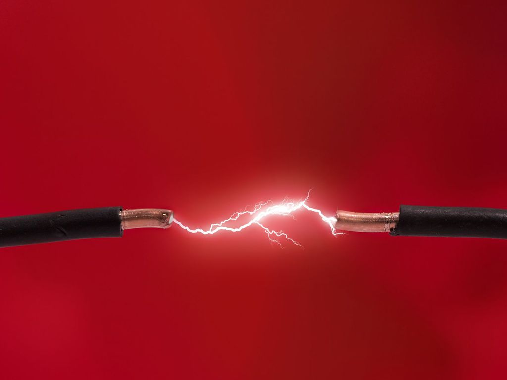 Delighted Sparking Wires Photos
