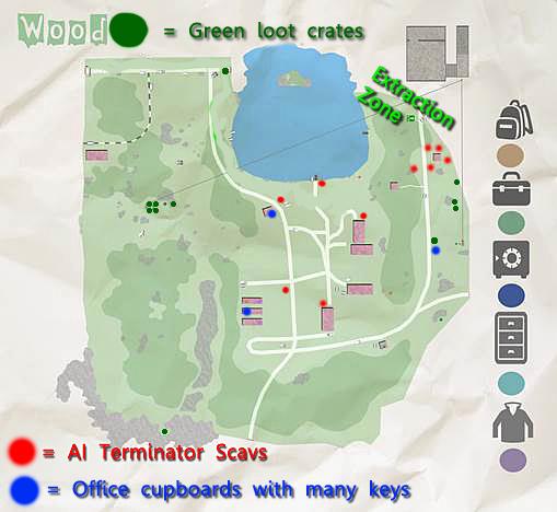 Tarkov Shoreline Map Extractions Related Keywords