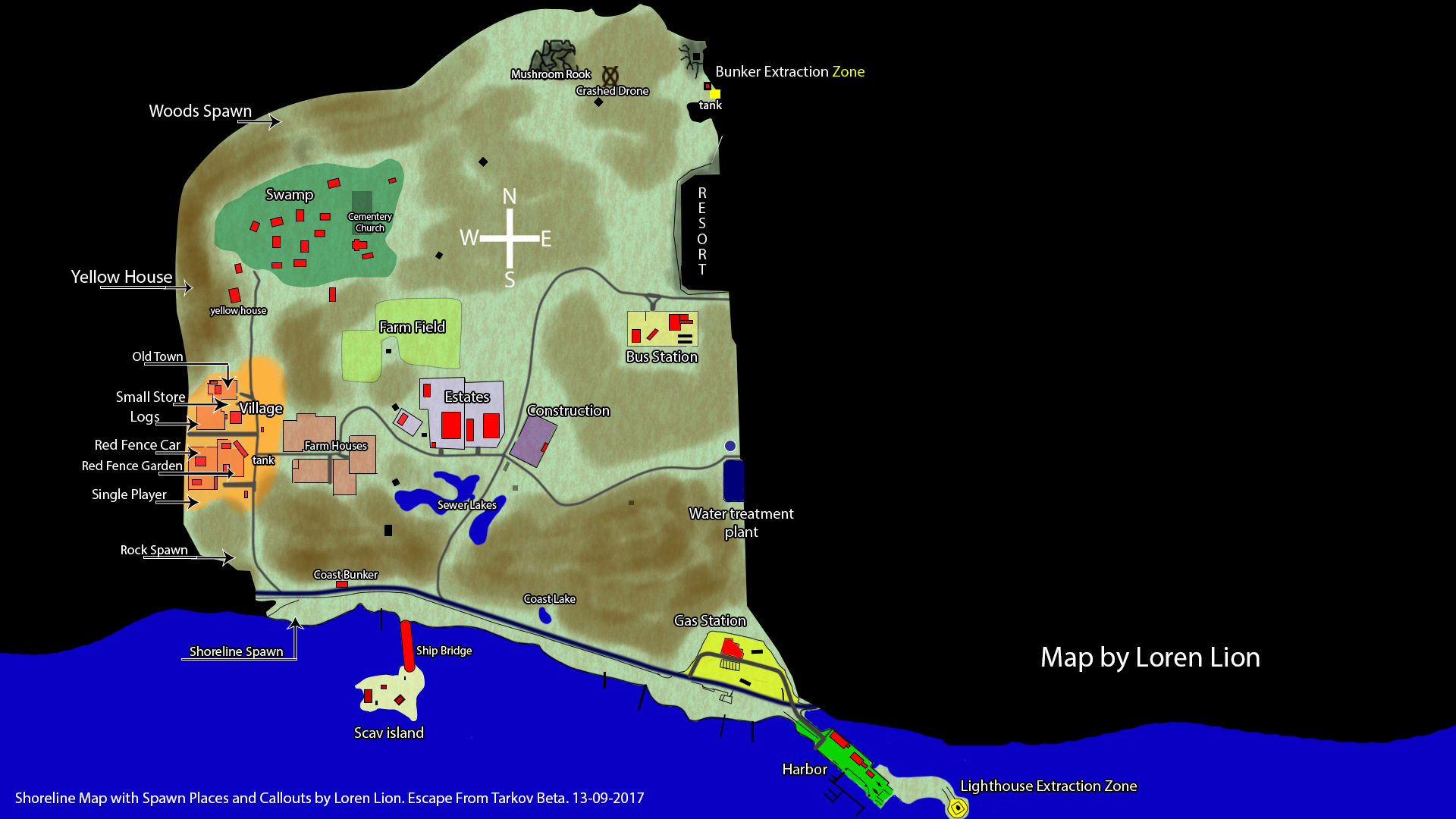 Shoreline Map Images - Reverse Search