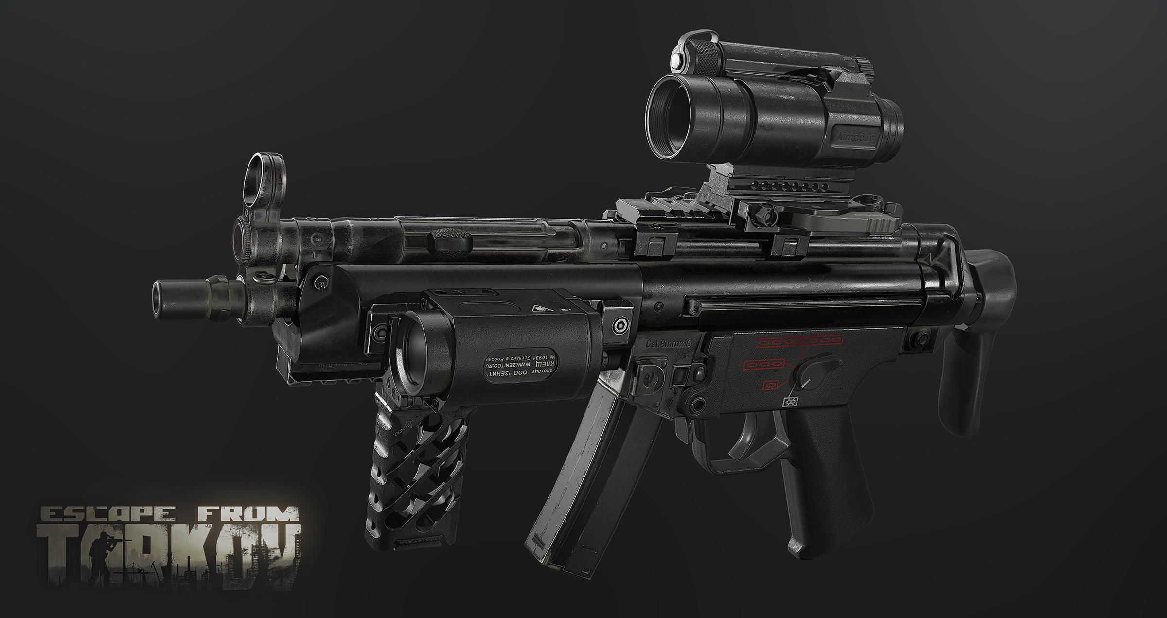 Quest Tarkov Mp5 Gunsmith
