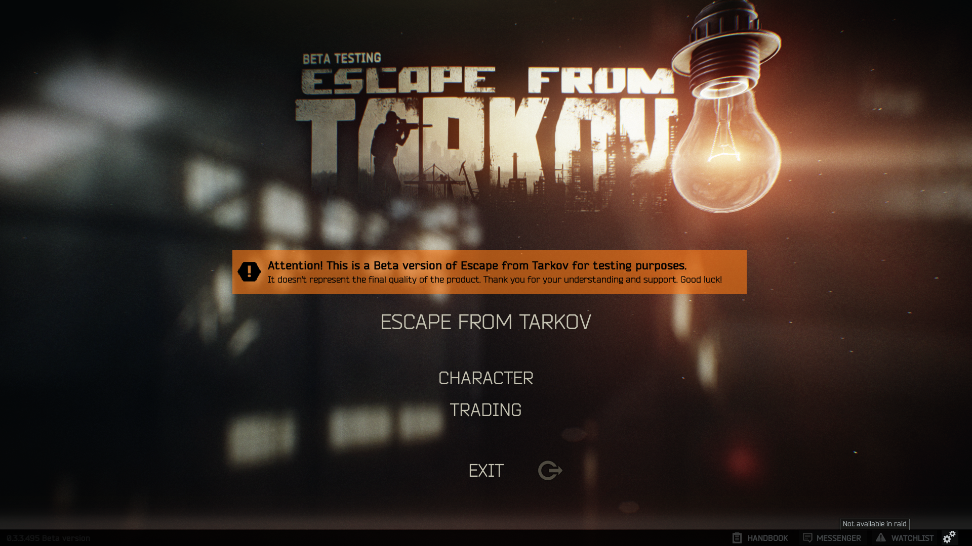 escape from tarkov how to get started