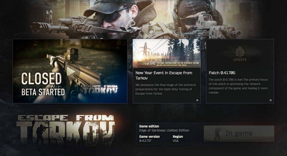 Launcher stuck in-game? - Questions - Escape from Tarkov Forum