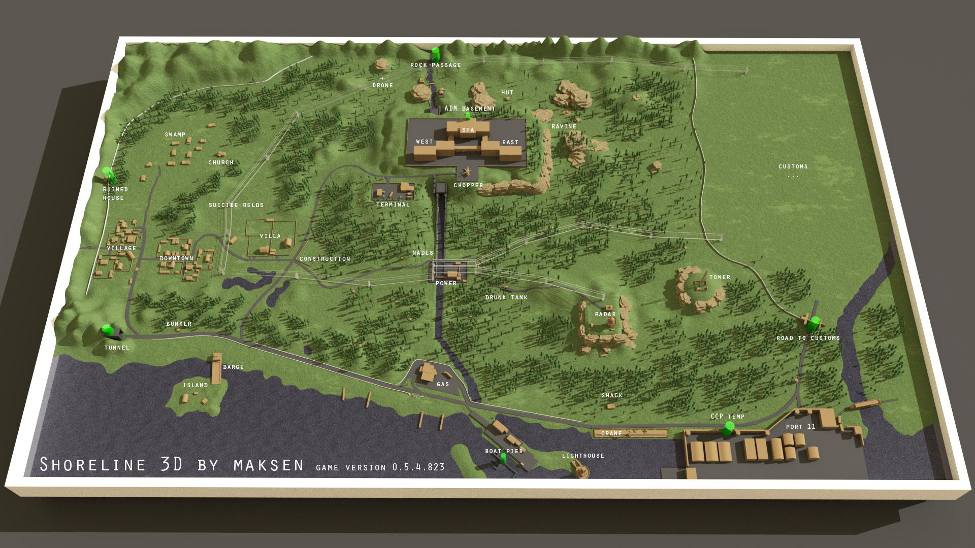 shoreline map?? - General game forum - Escape from Tarkov Forum