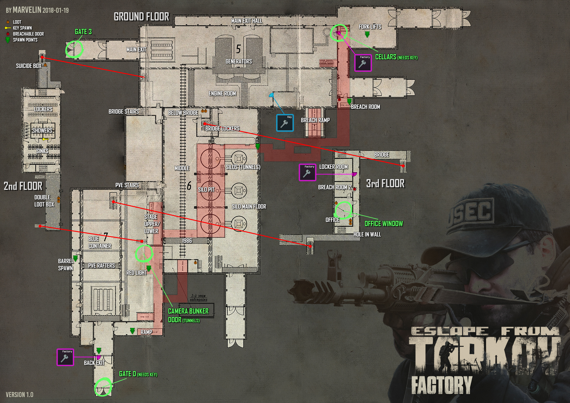 Where Is Factory Gate 0 Game Questions Escape From Tarkov Forum