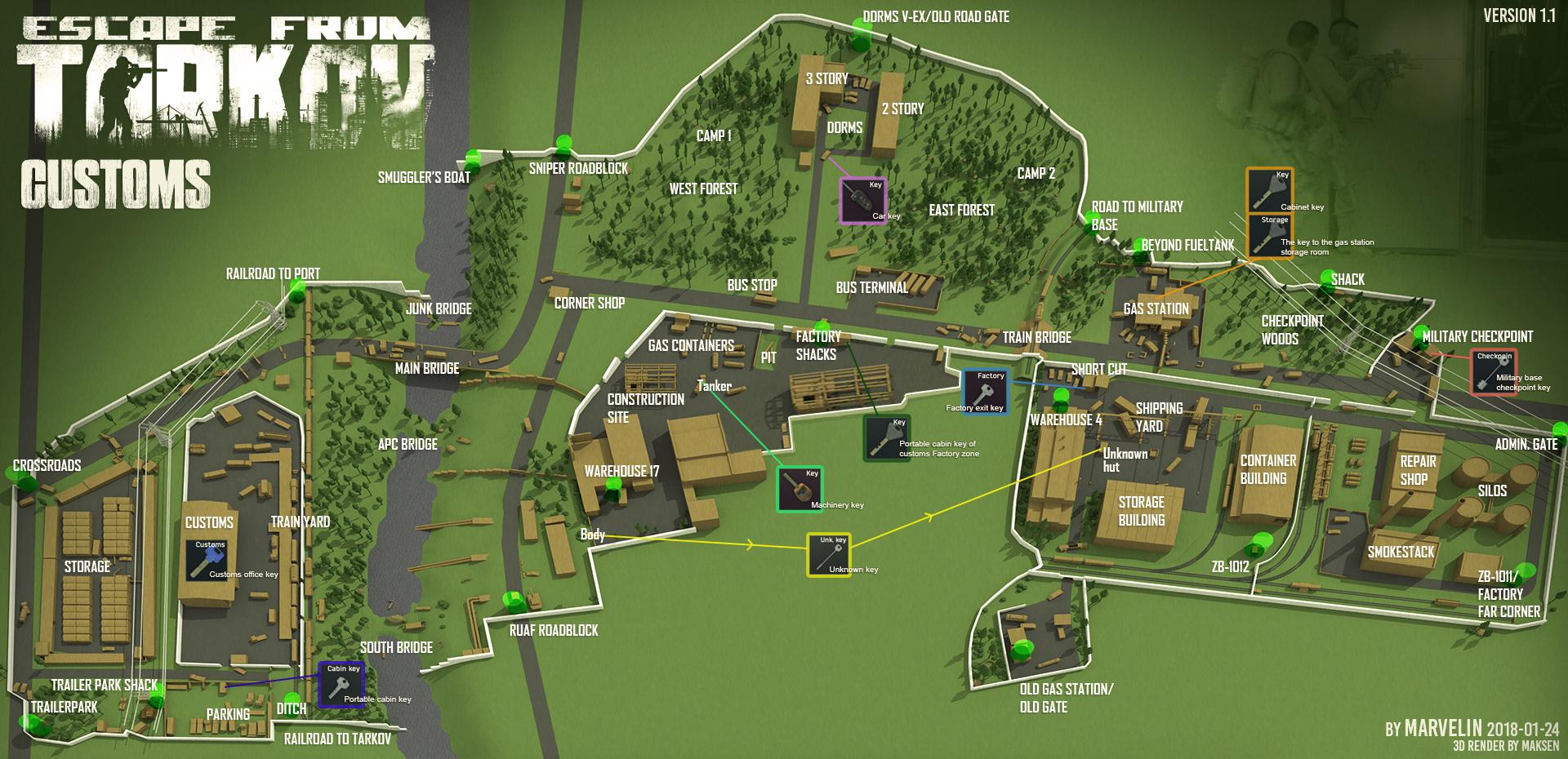 Maps of Tarkov - General game forum - Escape from Tarkov Forum