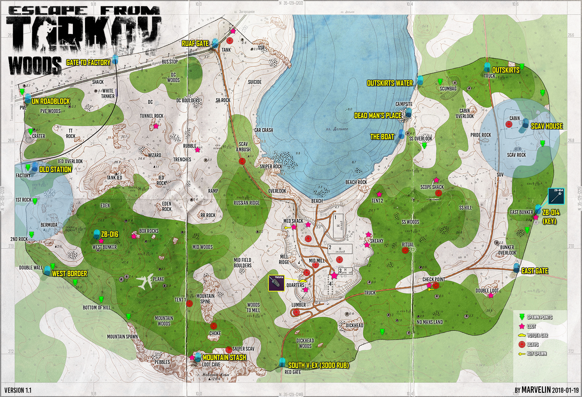 Maps of Tarkov - General game forum - Escape from Tarkov Forum