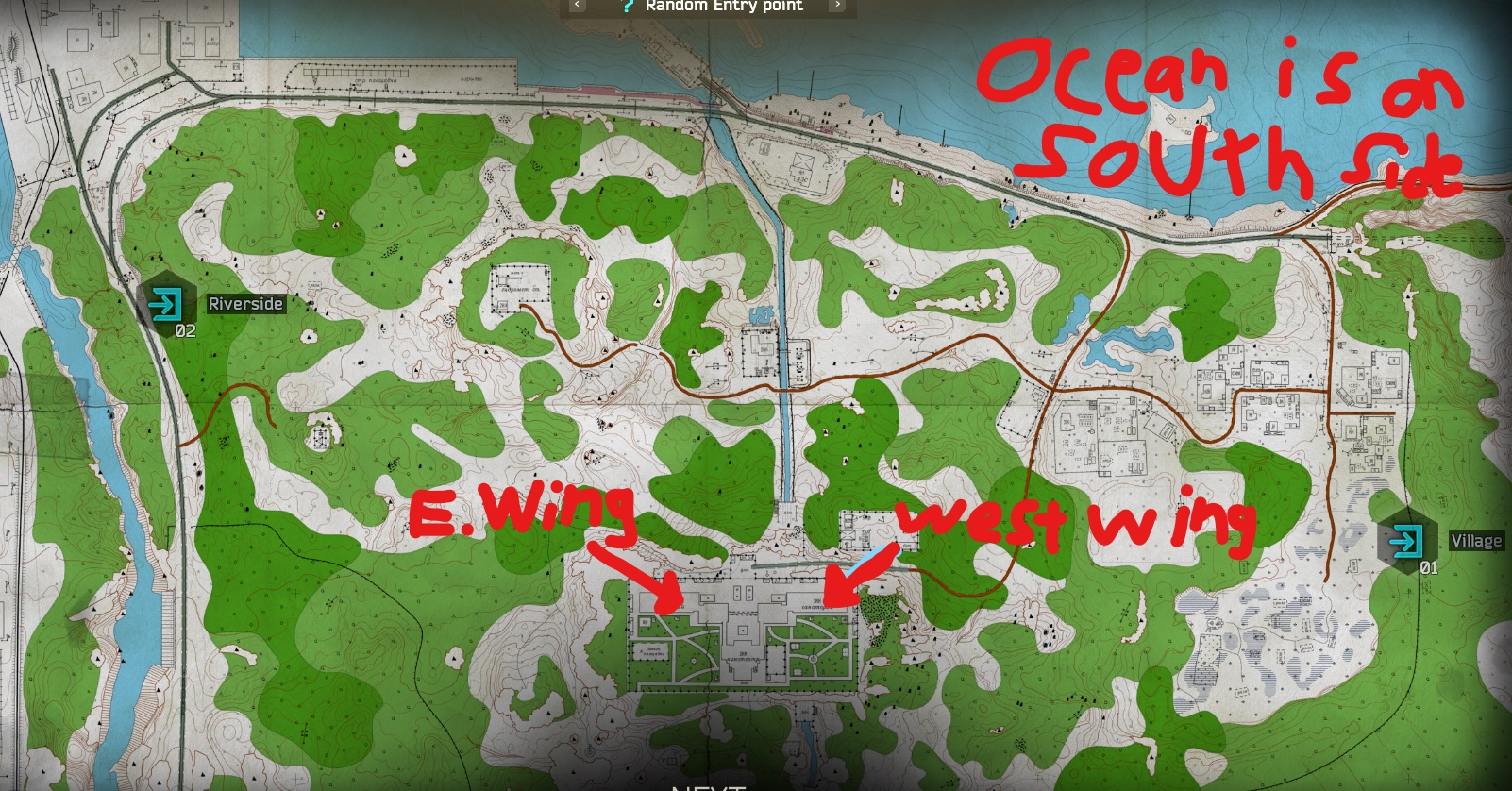 Shoreline Map incorrect - Fix suggested - Questions - Escape