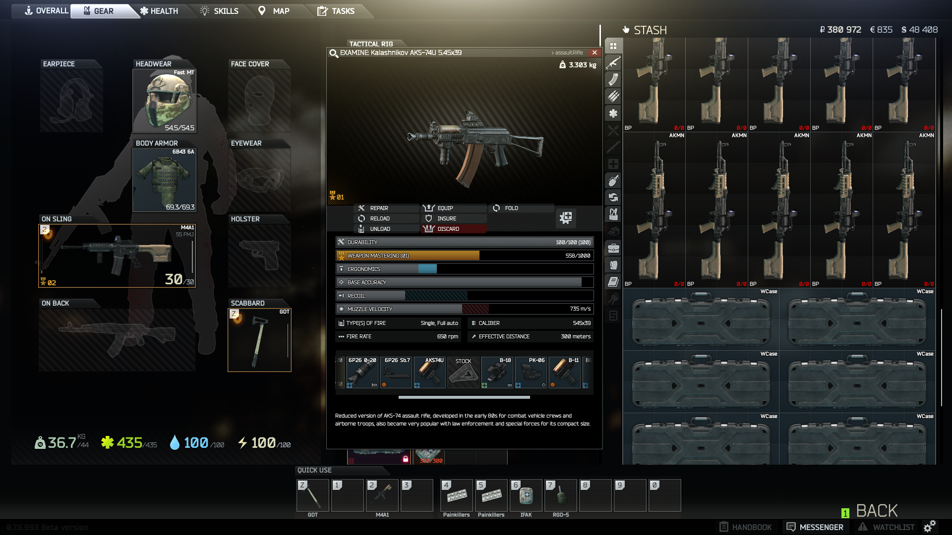 Guide] The AKs-74u After a Wipe/Reset – The Ideal Trainer for Your