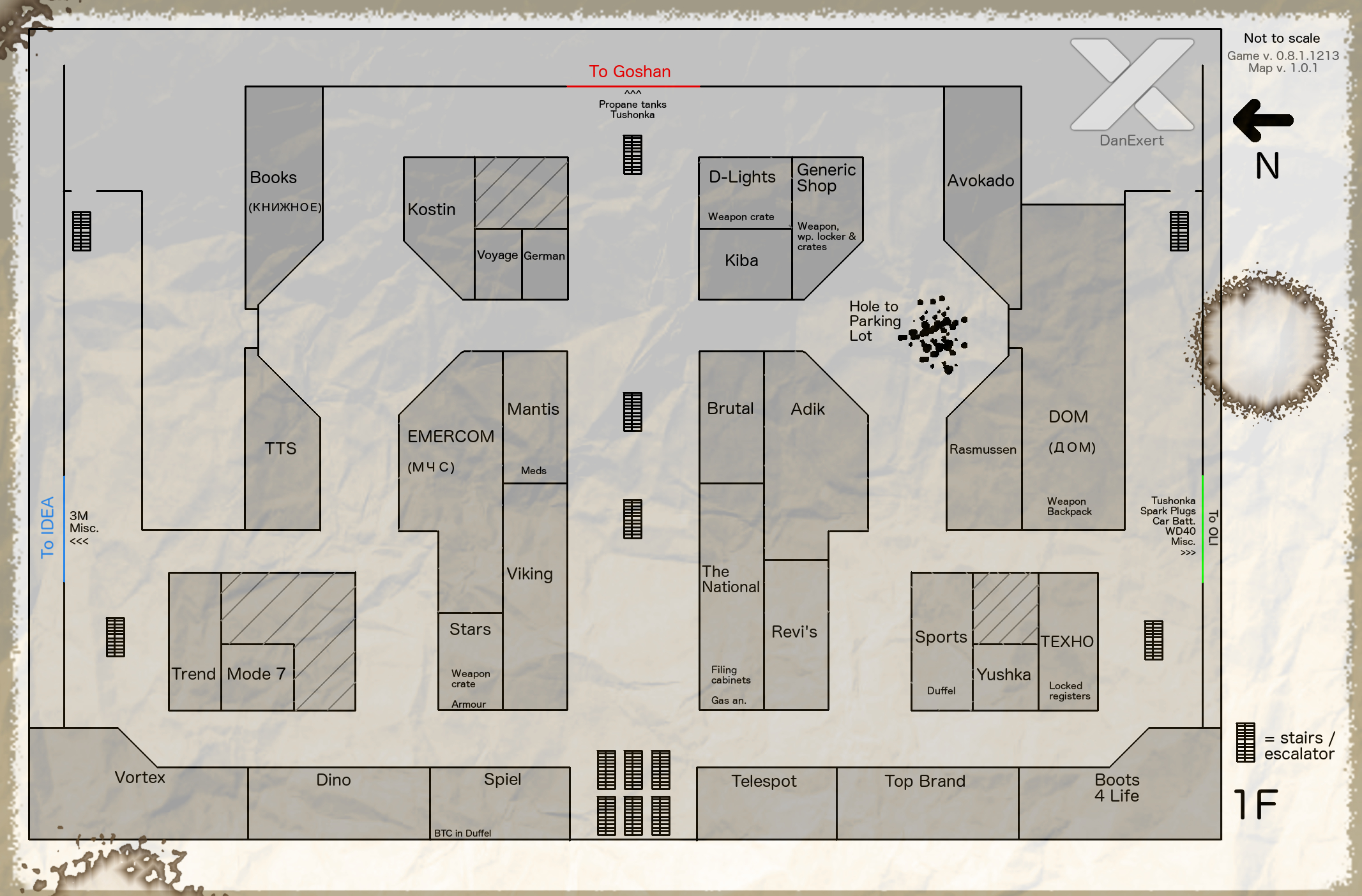 Made maps for Interchange Mall - General game forum - Escape