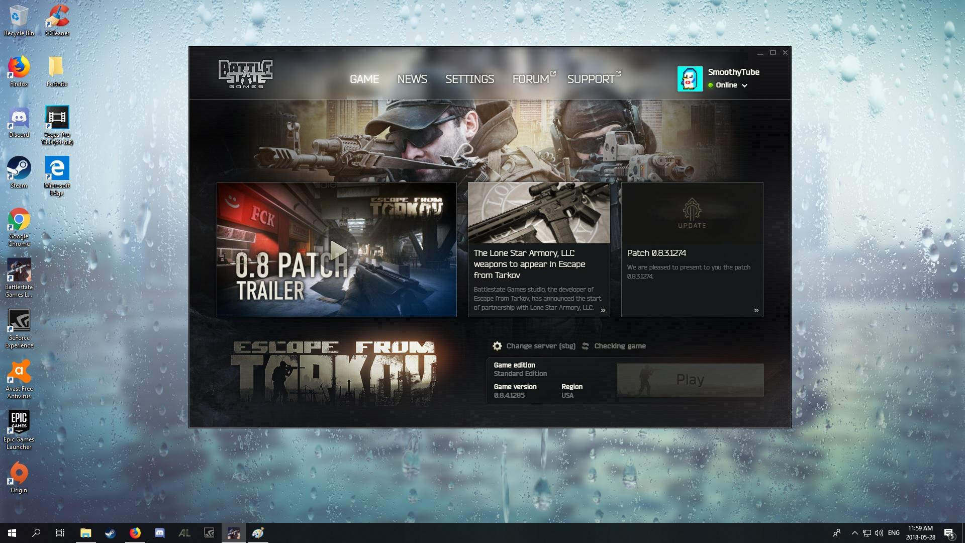 Game wont launch - Game questions - Escape from Tarkov Forum
