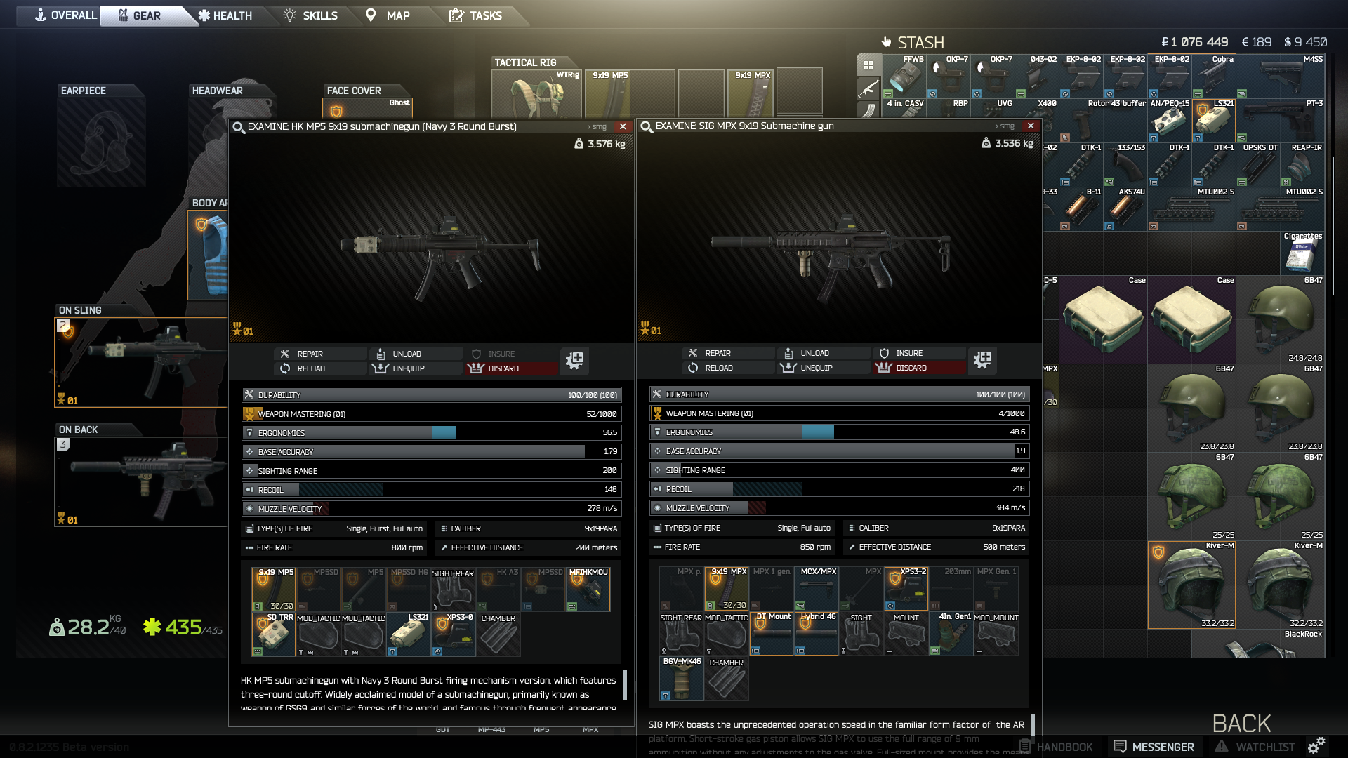 Experiment: MP5SD or MPX Silenced? - General game forum