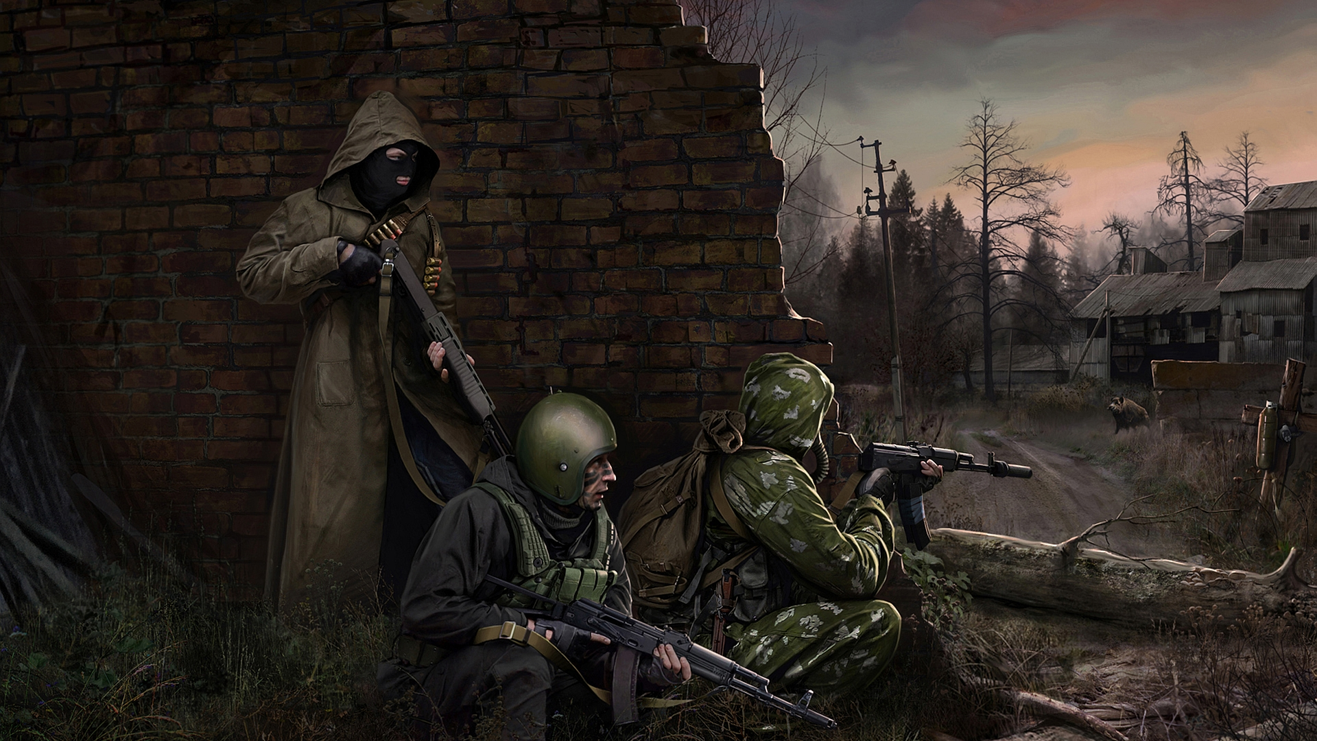 Escape From Tarkov Wallpaper 4k: Tarkov/Stalker/Post Apocalyptic Art