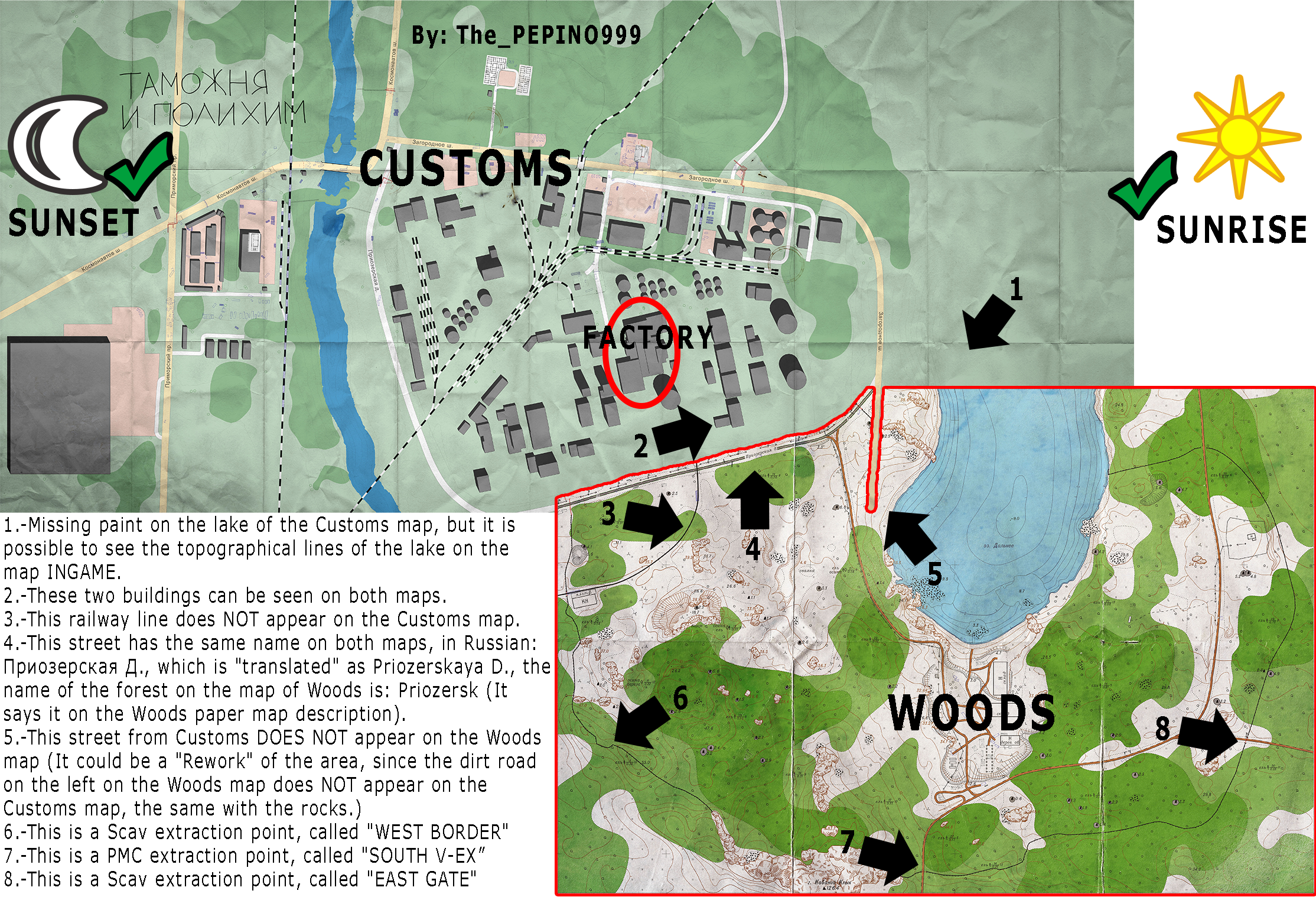 Escape From Tarkov Map Woods World Map Atlas