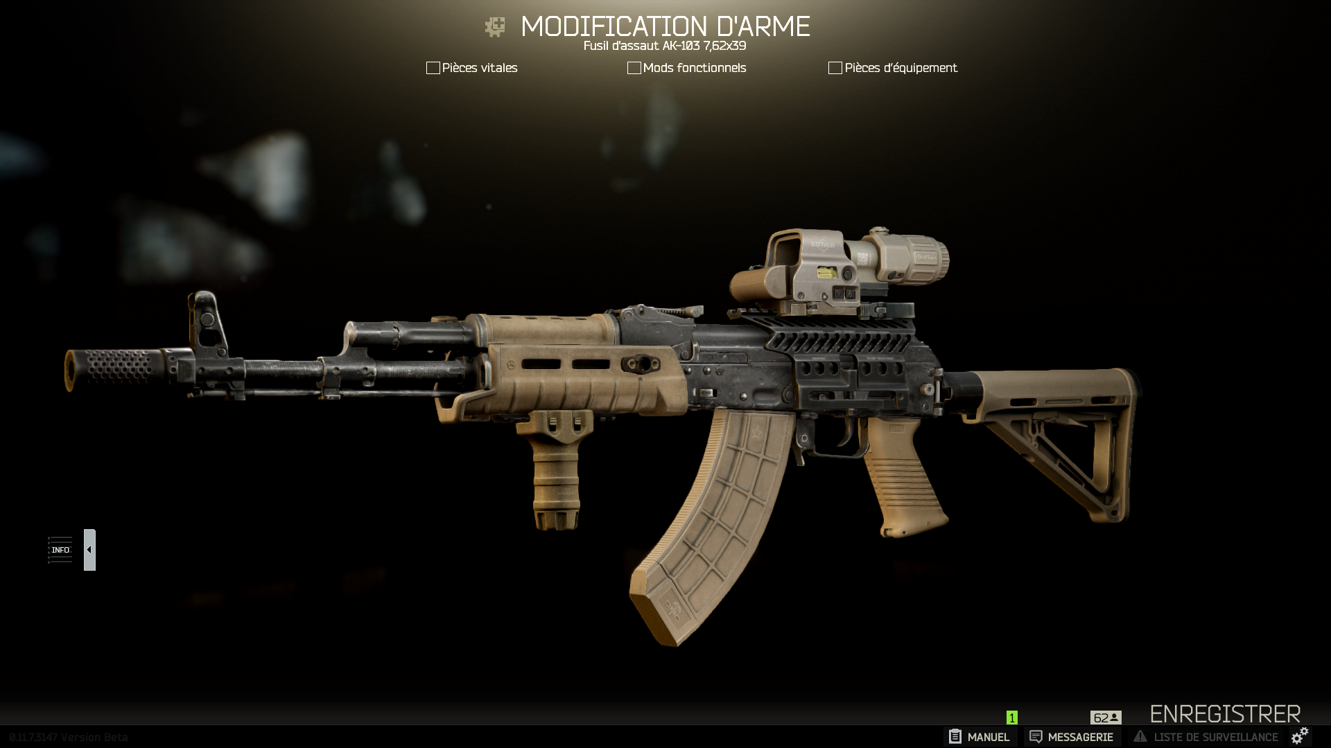 Weapon Modification: Show Off Your Work