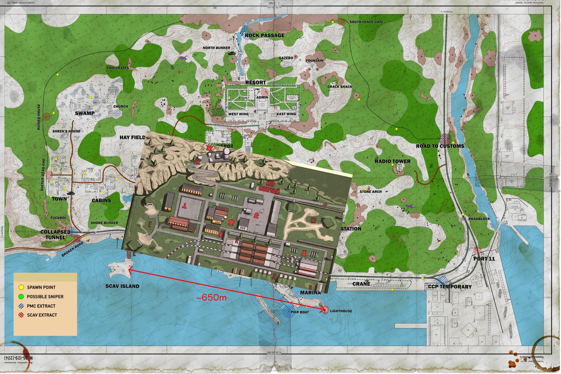 Escape From Tarkov Map