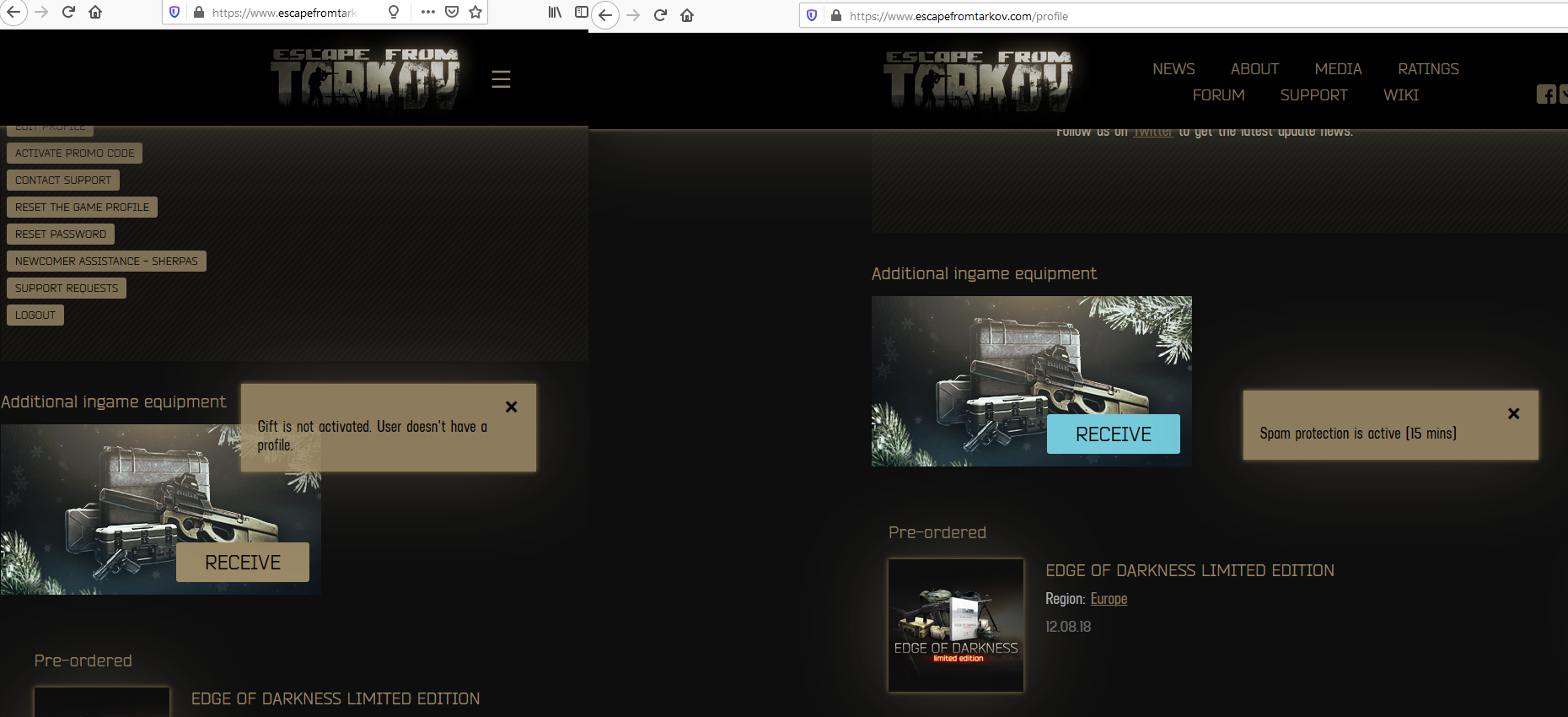 New Year Event In Escape From Tarkov 2020 Page 2 Project News Escape From Tarkov Forum